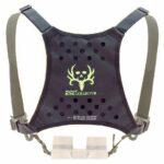 Butler Creek Bone Collector Edition Deluxe Bino Caddy Binocular Harness, Black