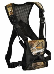 S4Gear LockDownX Binocular Harness (Realtree Camo) for use with binoculars by Leupold,Nikon,Swarovski,Bushnell,Canon etc