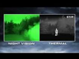 what is the difference between night vision vs thermal imaging