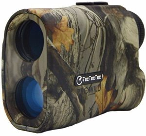 TecTecTec ProWild Hunting Rangefinder - Laser Range Finder for Hunting with Speed, Scan and Normal