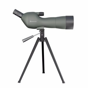 Emarth 20-60x60AE Waterproof Angled Spotting Scope with Tripod, 45-Degree Angled Eyepiece, Optics Zoom 39-19m-1000m Army Green