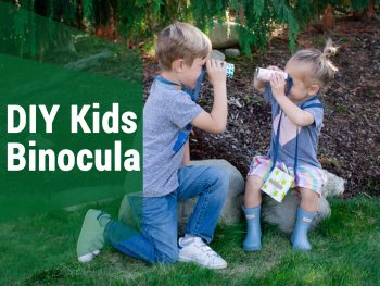 DIY Kids Binoculars! A Craft Your Child Can Learn Easily